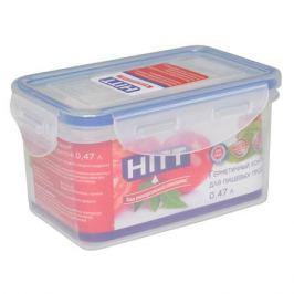 контейнер для продуктов HITT, 0,47 л, 14х9х7 см, прямоугольный, пластик