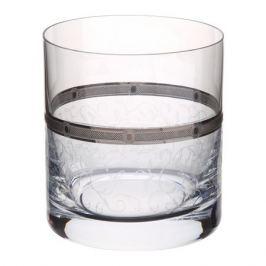 набор стаканов Барлайн 6шт. 280мл виски плат.кружево широкий кант стекло