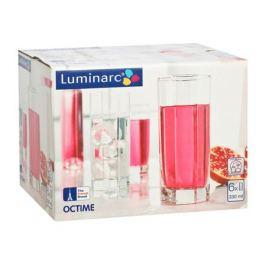набор стаканов LUMINARC Октайм 6шт. 330мл высокие стекло