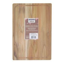 доска разделочная TRAMONTINA Teak прямоугольная, 40х28 см, деревянная