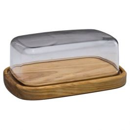 емкость для продуктов PLASTIC CENTRE, 2,5 л, 29х11 см, пластик, дерево