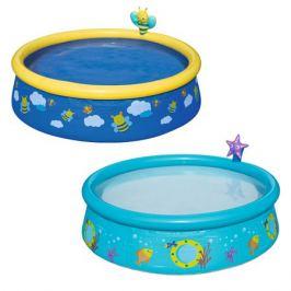 бассейн детский надувной BESTWAY (57326) 152х38см 477л с брызгалкой