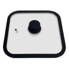 крышка MALLONY, 26х26 см, стекло, силиконовый ободок, паровыпуск