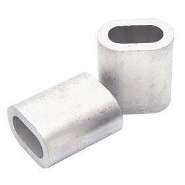 зажим троса алюминий 3мм 2шт