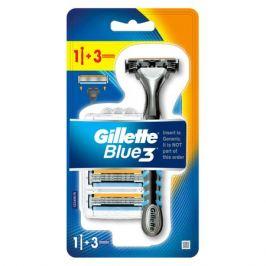 станок д/бритья GILLETTE Blue3 + 2кассеты муж.