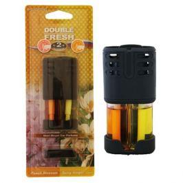 ароматизатор в дефлектор AUTO STANDART Double Fresh персик/пряный имбирь