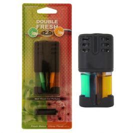 ароматизатор в дефлектор AUTO STANDART Double Fresh свежая дыня/цветок цитруса