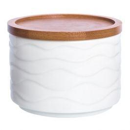 банка для продуктов Айсберг 0,25 л, круглая, фарфоровая