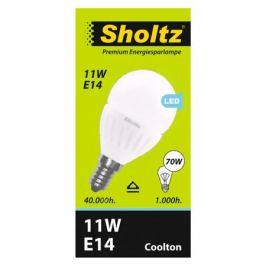 лампа светодиодная SHOLTZ 11Вт E14 828лм 4000K 220В шар