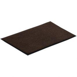 коврик VORTEX, 40х60 см, коричневый, влаговпитывающий, ребристый, полиэстер, ПВХ