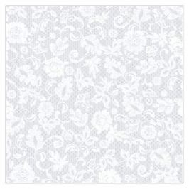 скатерть ПВХ Anna grey 140х180см белая, арт.99534
