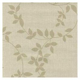скатерть ПВХ Linette beige classic leaf 140х180см белая, арт.19311