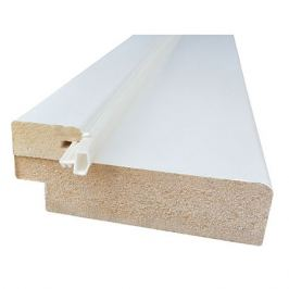 погонаж коробочный, тип 50, эмаль, белый, 2,07м