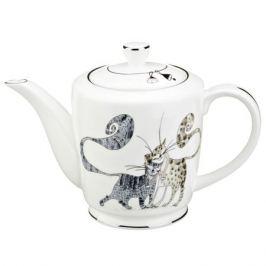 чайник заварочный LEFARD Котики 500мл фарфор