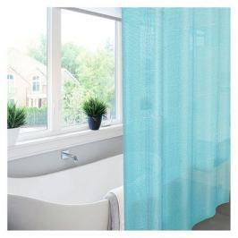 занавеска для ванной Meiwa Pebbles 182х182 см, ПВХ синий