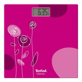весы напольные TEFAL PP1147V0 стекло до 160кг розовые