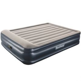 матрас надувной Premium+ Air Bed Bestway 203х152х46см электронасос
