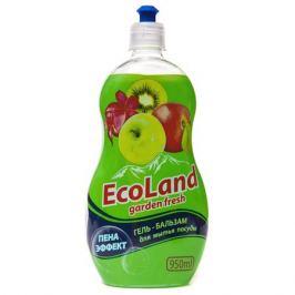 средство д/посуды ECOLAND Garden Fresh 950мл гель-бальзам