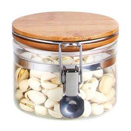 банка для продуктов MALLONY Corona 0,5 л, круглая, стеклянная