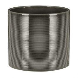 кашпо керамическое Glass Grey 828 d-14 см