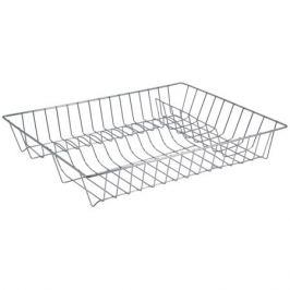 сушилка д/посуды РЫЖИЙ КОТ 43х34х7,5см хром.металл