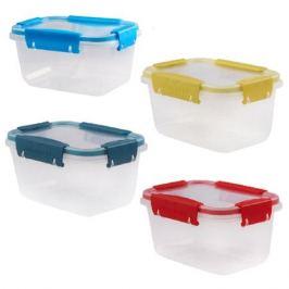 контейнер для продуктов Butterfly, 0,75 л, 11,2х15,6х8,4 см, прямоугольный, 4 замка, пластик