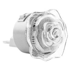 светильник ночник светодиодный Роза 0,4Вт LED белый