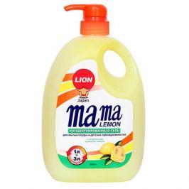 средство д/посуды MAMA LEMON Лимон 1000мл концентрат с дозатором