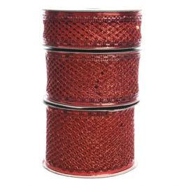 лента-сетка красный в асс-те