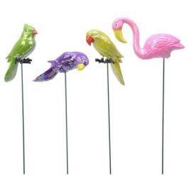 штекер Попугай/Фламинго 17х60 см пластиковый, в ассортименте