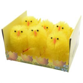 набор пасхальный Цыплята 6шт 6,5см