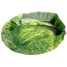 блюдо Greenery 13x18 см, стеклянное