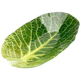блюдо Leaf Lettuce 16х26 см, стеклянное