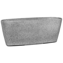 горшок 40,5х14,5х19см известняк каменная пудра/полим.материалы