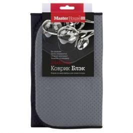 коврик для сушки MASTER HOUSE Блэк, 24х45 см, микрофибра, цвет черный