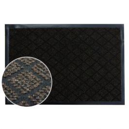 коврик IN LORAN Крафт, 60х90 см, влаговпитывающий, коричневый, полиэстер, ПВХ