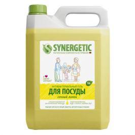 средство д/посуды SYNERGETIC Сочный лимон гель 5л