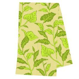 полотенце кухонное BONITA Солнечные подсолнухи 35х62см зеленое/желтое, арт.21010118499