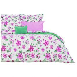 постельное белье дуэт SOVA&JAVORONOK Альпийская роза перкаль 2 нав.70х70см , арт.22030118453