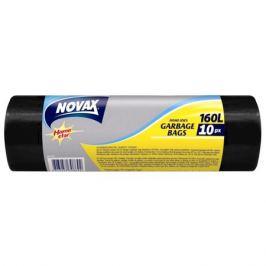 пакеты д/мусора NOVAX 160л 90х120см 22мкм 10шт.