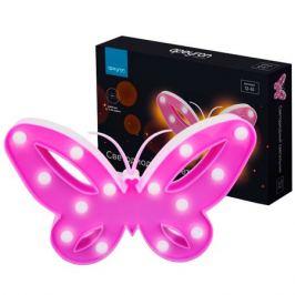 светильник светодиодный APEYRON 3Вт Бабочка розовый