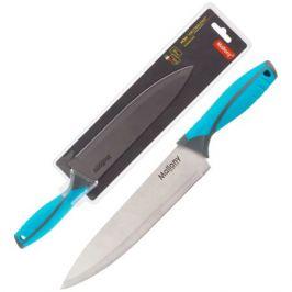 нож MALLONY Arcobaleno 20см поварской нерж.сталь/пластик/ТПР