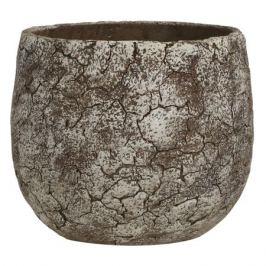 кашпо керамическое Thomas d16см 1,5л серое