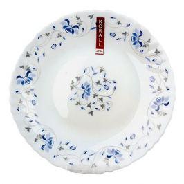 тарелка Синяя вуаль 19см десертная стеклокерамика