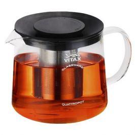 чайник зав. 4в1 VITAX Warkworth 1500мл круглый термостекло/пластик/нерж.сталь