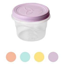 контейнер д/продуктов АРХИМЕД Амулет 0,375л 9,5х9,5х9,5см винтовой круглый пластик микс цвета