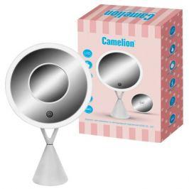лампа настольная светодиодная CAMELION M282-DL C01 LED 5Вт LR03/USB с зеркалом белый