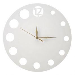 часы настенные МИНИМАЛИЗМ КРУГ D350мм белые МДФ