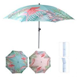 зонт пляжный h217см полиэстер в асс-те