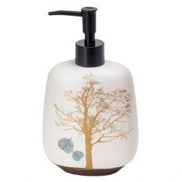 дозатор д/жидкого мыла SIBO True Tree настольный керамика бежевый